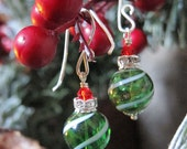 Sihaya Designs Ornaments 2013 - Evergreen Swirl in Sterling Silver