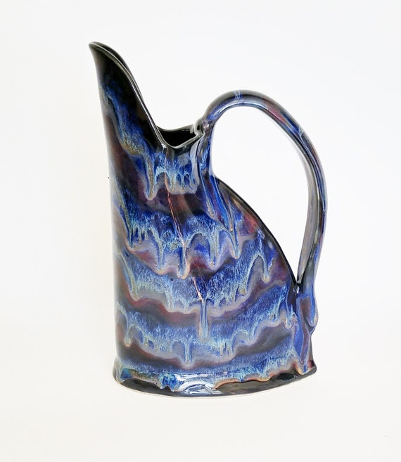 Handmade Stoneware Jug - Handmade Pottery Jug - Ceramic Jug - Handmade Pottery Pitcher - Handmade Pitcher - Iced Tea Pitcher - Pottery Jug