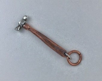 CS18 - Jeweler's Forming Hammer Charm by ReginaMarieDesigns