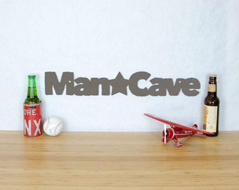 Wood Man Cave sign, Sign For Man Cave, Fathers Day Wood Sign, Men's Funny Wood Sign, Sign Gift For Co-Worker, Signs For Men