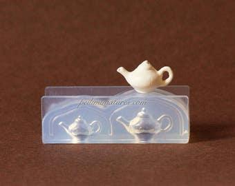 Dollhouse Miniature Teapot Silicone Mold