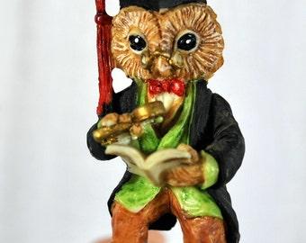 Osbourne Owl by Leonardo - Little Nook Village - Lesser & Pavey - LN 11