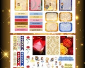 Beauty Planner Stickers~