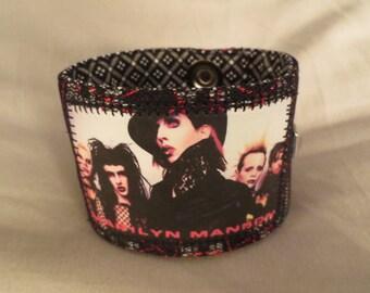Marilyn Manson Cuff Bracelet
