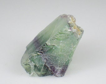 Purple Green Rainbow Fluorite Gemstone Rough Reiki Healing Natural Metaphysical