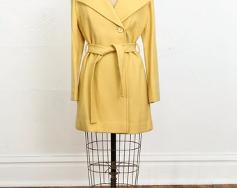 SALE Yellow Wool COAT Pendleton