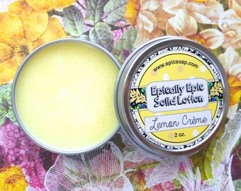 Lemon Crème Many Purpose Solid Lotion