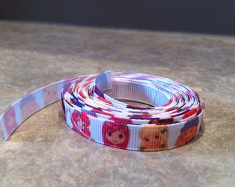 3 yds Strawberry shortcake and friends ribbon