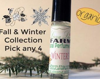 Fall Winter Perfume Oil | Pick 4 | Halloween perfume oil, Fall perfume, Winter perfume oil | Roll on | Personal Perfume Oil | .33 ounce
