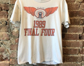 Flying Illini final four 1989 t shirt