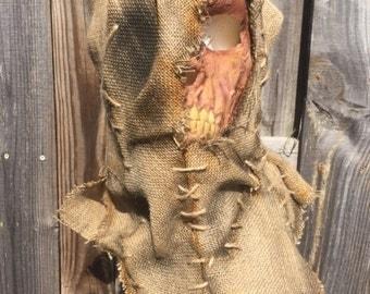 Creepy Burlap Mask