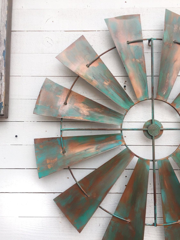 Full Windmill Head 35 Wall Decor Rustic Farmhouse