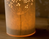 SECONDS SALE! Cow Parsley candle cover half price!