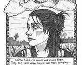 Ltd Edition 'Rachel Sermanni' A5 Art Print (pre-order)