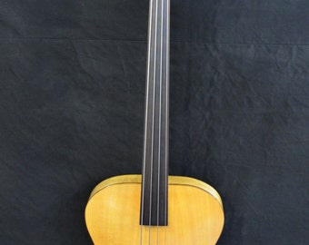 Handmade Fretless Bass Guitar