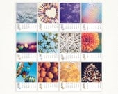 SALE:  2017 calendar (base not included) / 2017 desk calendar, calendar refill, photo calendar, travel photography calendar