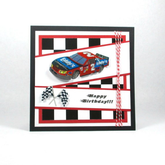 Birthday Cards Race Car Nascar Boys Birthday Cards Dads
