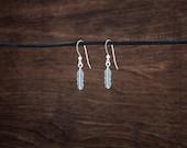 Little Feather Earrings - STERLING SILVER
