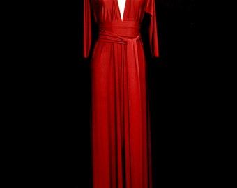 Cordelia Draped Jersey Maxi Dress - Made to Order - FREE SHIPPING WORLDWIDE