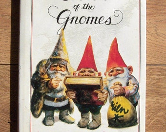 Vintage 1981 book - SECRETS  Of The GNOMES  HC