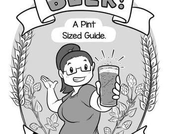 Beer! A Pint Sized Guide mini comic zine