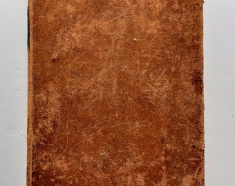 Pierpoint's National Reader  1835 Antique Leather Book