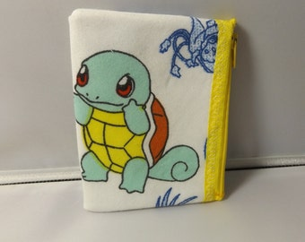 Pokemon-Squirtle Coin Purse-Handmade   Nintendo