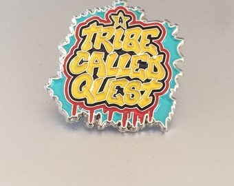 A Tribe Called Quest Soft Enamel Lapel Pin 1""