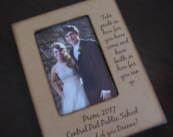 Graduation Frame- Prom Frame - Personalized Gift for Special Graduate