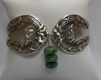 Antique Spoon Bracelet  Royal Oak  8 inch