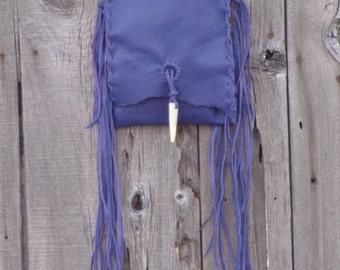 Purple handbag with fringe , Purple leather crossbody day bag , Purple leather purse with fringe , Fringed leather bag