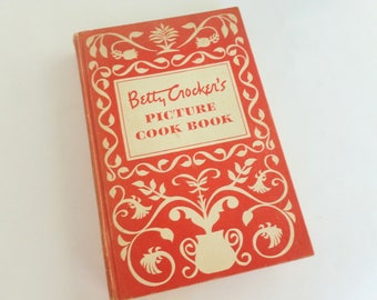 Betty Crocker's Picture Cook Book 1950 First Edition Seventh Printing Hardcover by General Mills
