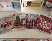 CHRISTMAS HOLIDAY COOKBOOKS  - Choose 1/12 or 1:6 Scale Miniature