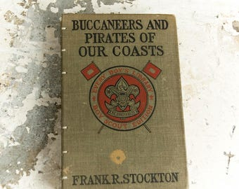 1914 PIRATES Vintage Lined Adventure Notebook
