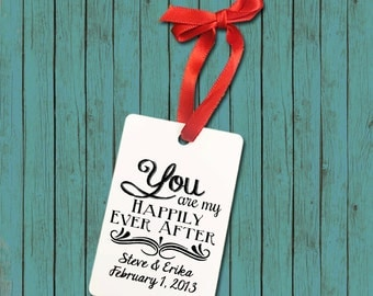 You Are My Happily Ever After - Couple -  Aluminum Ornament