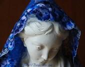 Blue Mantilla in Honour of Saint Julia Salzano