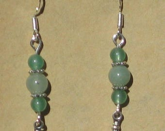Green Aventurine and Brighid Cross