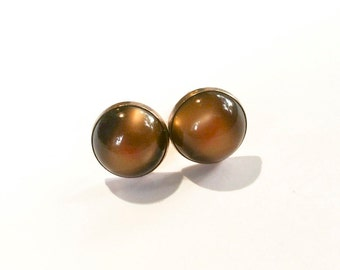 Antique Rootbeer Cuff Links