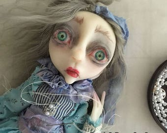 Pouty Pippa Art Doll Tutorial PDF Download How to make an art doll LuLusApple Style