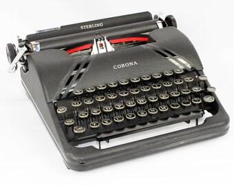 Smith Corona Typewriter Fully Serviced Working Typewriter