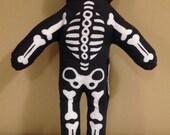 Stuffed Skeleton, Stuffed Animal, Stuffed Toy