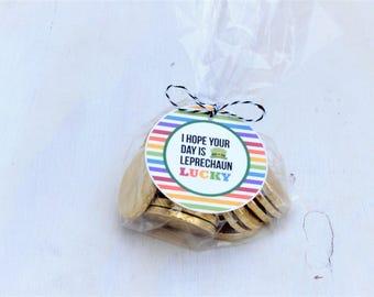 I Hope Your Day is Leprechaun Lucky | St. Patrick's Day Labels |  St. Patrick's Day Tags | Happy St. Patrick's Day | Leprechaun Printable
