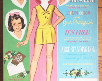 Vintage 1962 You Are a Doll Clothing Cutouts