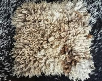"""felted """"sheepskin"""" sheep skin fleece Shetland sheep Blossom A"""