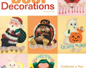PLASTIC CANVAS Door Decorations for Special Occasions The Needlecraft Shop 845521