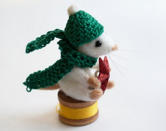 SALE needle felted mouse