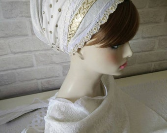 head scarves, jewish head covering, headscarves, apron tichel, head coverings, sinar tichel, haarband, hair
