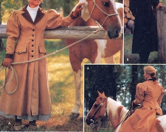 Simplicity 9453 Sewing Pattern for Misses' Carriage and Buggy Coat - Uncut - Size 14, 16, 18, 20
