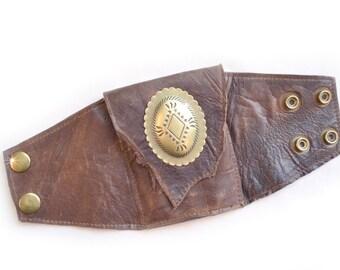Leather | Wrist | Cuff | Wallet | Wrist Wallet | Wallet Cuff | Multiple Colors