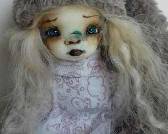 Mathilde  - Ooak articulated art doll (WORLDWIDE SHIPPING INCLUDED)